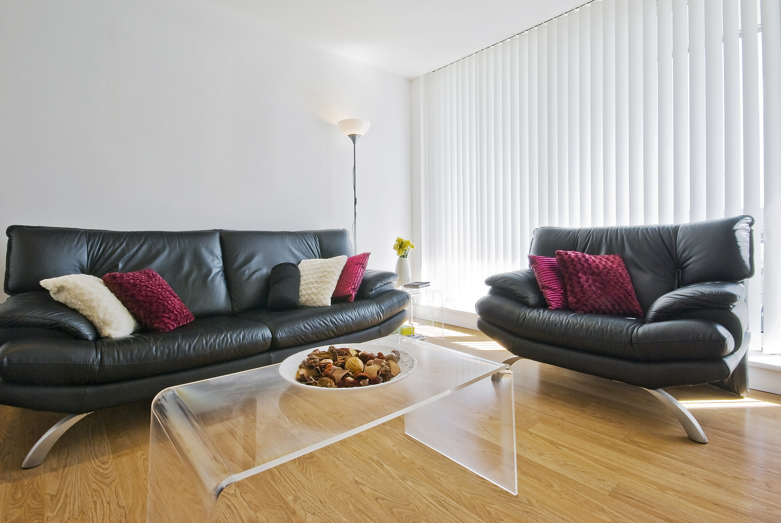 Living room with top-notch Sydney timber flooring
