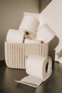 Toilet paper made from bamboo
