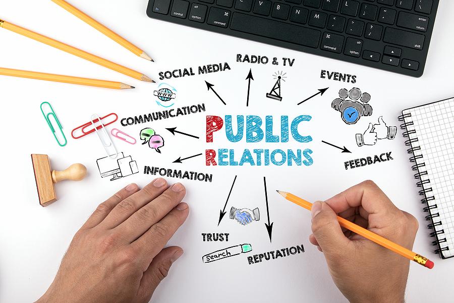 Public Relations concept